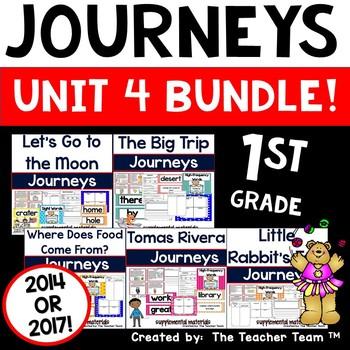 Journeys 1st Grade Unit 4 ~ Supplemental Materials 2014