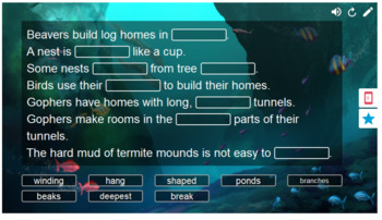 Journeys Animals Building Homes Smart Lab Pack Interactive Whiteboard Activities