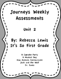 Journeys Assessments Unit 2 Bundle