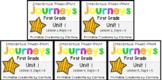 Journeys BUNDLE Unit 1 Weeks 1-5 Power Points First Grade