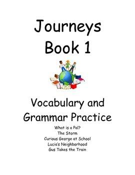 Journeys Book 1- Vocab and Grammar