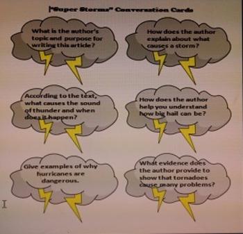 Journeys Close Read Conversation Cards Six Unit Bundle Second Grade