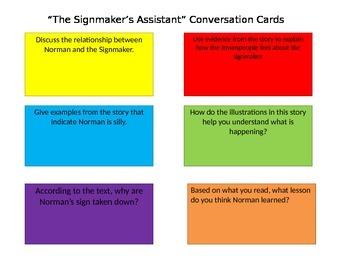 Journeys Close Read Conversation Cards Unit 4 Second Grade