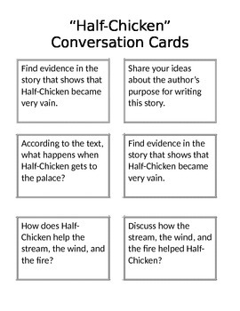Journeys Close Read Conversation Cards Unit 5 Second Grade