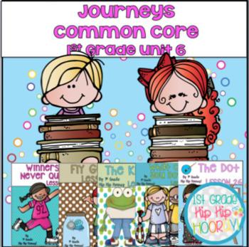 Supplemental Activities to Support  Journeys 1st Grade Unit 6