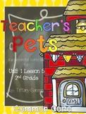 Journeys 2nd Grade Unit 1 Lesson 5 Teacher's Pets