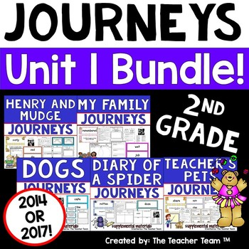 Journeys 2nd Grade Unit 1 Supplemental Materials 2014