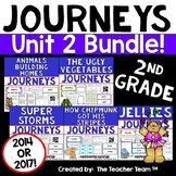 Journeys 2nd Grade Unit 2 Supplemental Activities & Printables CC 2014 or 2017