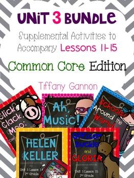 Journeys Common Core 2nd Grade Unit 3 Bundle