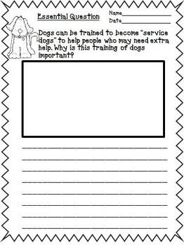 Journeys 2nd Grade Unit 3 Supplemental Activities & Printables CC 2014