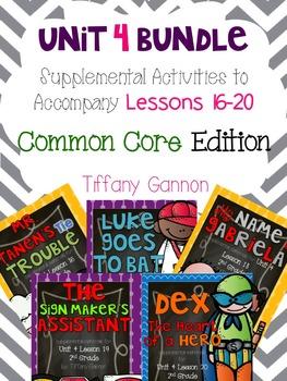 Journeys Common Core 2nd Grade Unit 4 Bundle