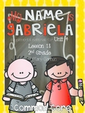 Journeys Common Core 2nd Grade Unit 4 Lesson 18 My Name is Gabriela