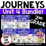 Journeys 2nd Grade Unit 4 Reading Comprehension Bundle 2014