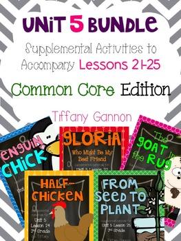 Journeys Common Core 2nd Grade Unit 5 Bundle
