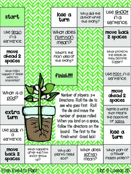 Journeys Common Core 2nd Grade Unit 5 Lesson 25 From Seed to Plant