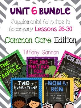 Journeys Common Core 2nd Grade Unit 6 Bundle
