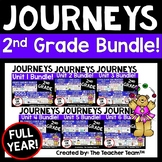 Journeys 2nd Grade Units 1-6 2014-2017 Supplemental Activities Full Year Bundle