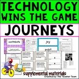 Technology Wins the Game Journeys 3rd Grade Unit 3 Lesson 11 Activities
