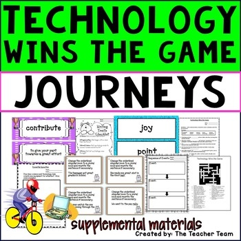 Technology Wins the Game Journeys 3rd Grade Supplemental M