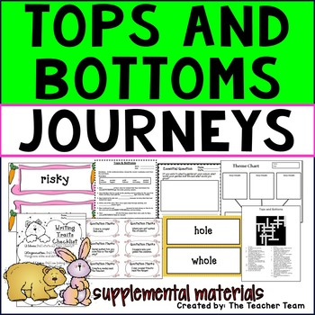 Tops and Bottoms Journeys 3rd Grade Unit 3 Lesson 12 Activities & Printables