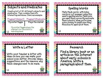 Journeys 3rd Grade Unit 1 Task Cards Supplemental Activities & Printables 2014
