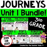 Journeys 3rd Grade Unit 1 Supplemental Activities & Printables CC 2014 or 2017