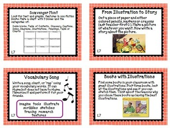 Journeys 3rd Grade Unit 2 Task Cards for Centers and Small Groups 2014 version