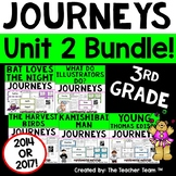 Journeys 3rd Grade Unit 2 Supplemental Activities & Printables CC 2014 or 2017