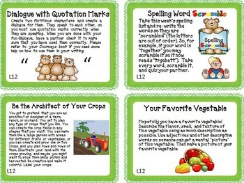 Journeys 3rd Grade Unit 3 Task Cards Supplemental Activities & Printables 2014