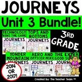 Journeys 3rd Grade Unit 3 Supplemental Activities & Printables CC 2014 or 2017