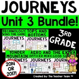 Journeys 3rd Grade Unit 3 Supplemental Activities & Printables CC 2014 or 2017