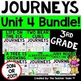 Journeys 3rd Grade Unit 4 Supplemental Activities & Printables CC 2014 or 2017