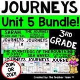 Journeys 3rd Grade Unit 5 Printables Bundle | 2014 - 2017