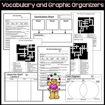 Journeys 3rd Grade Reading Language Arts Units 1-6 Full Year Bundle  CC 2014