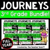 Journeys 3rd Grade Unit 1 - Unit 6  Printables  Year Bundl
