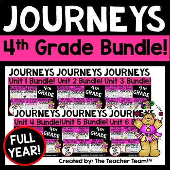 Journeys 4th Grade Unit 1 Supplemental Materials CC 2014
