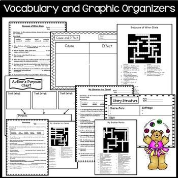 Journeys 4th Grade Units 1-6 Full Year Supplemental Activities & Printables 2014