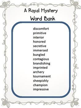 Journeys 5th Grade Crossword Puzzles Units 1-6 Common Core 2014