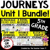 Journeys 5th Grade Unit 1 Supplemental Activities & Printables CC 2014 or 2017