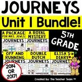Journeys 5th Grade Unit 1 Printables Bundle | 2014 - 2017