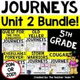 Journeys 5th Grade Unit 2 Printables Bundle   2014 or 2017