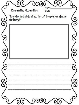 Journeys 5th Grade Unit 3 Supplemental Activities & Printables CC 2014