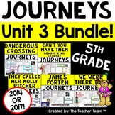 Journeys 5th Grade Unit 3 Supplemental Activities & Printables CC 2014 or 2017