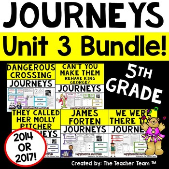 Journeys 5th Grade Unit 3 Supplemental Materials 2014