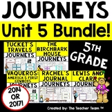 Journeys 5th Grade Unit 5 Supplemental Activities & Printables CC  2014 or 2017