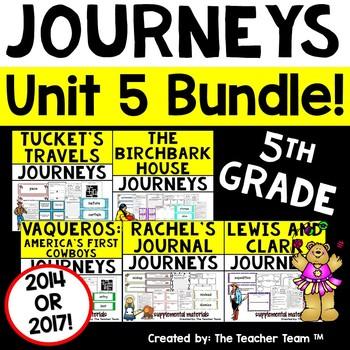 Journeys 5th Grade Unit 5 Supplemental Materials 2014