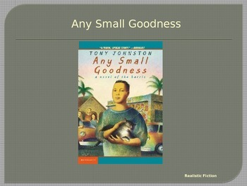 Journeys Common Core 6th Grade Reading Unit 3 Story 4 Any Small Goodness
