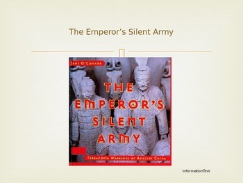 Journeys Common Core 6th Grade Reading Unit 4 Story 2 The Emperor's Silent Army