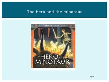 Journeys Common Core 6th Grade Reading Unit 4 Story 3 The Hero and the Minotaur