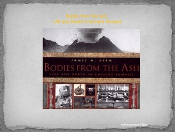Journeys Common Core 6th Grade Reading Unit 4 Story 5 Bodies from the Ash...